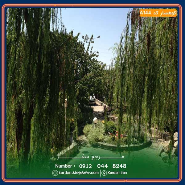 ویلا جکوزی دار کوهسار کد A144
